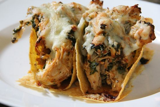 Dinner Tonight: Spicy Chicken Baked Tacos