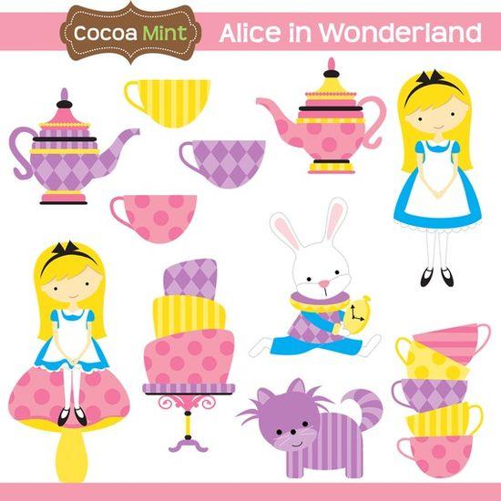 Alice Clip Art