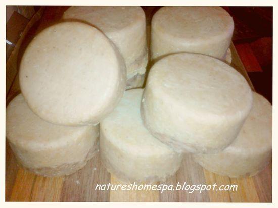 All Natural Homemade Moisturizing Soap
