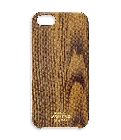 woody iphone 5 hard case / jack spade