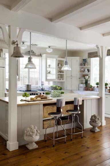 Beach cottage kitchen...