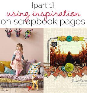 Using Scrapbook page Inspiration