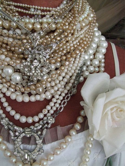 Pearls and bling