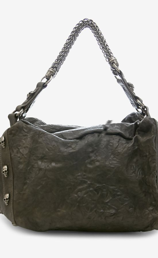 Thomas Wylde Charcoal Handbag