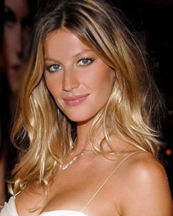 Gisele's hair - I like how it's more blonde under