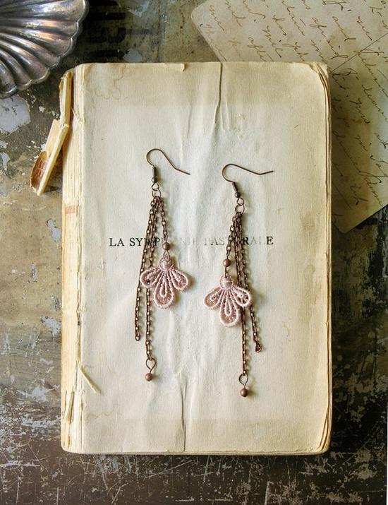 arielle lace earrings #earrings #accessories #fashion #jewelry