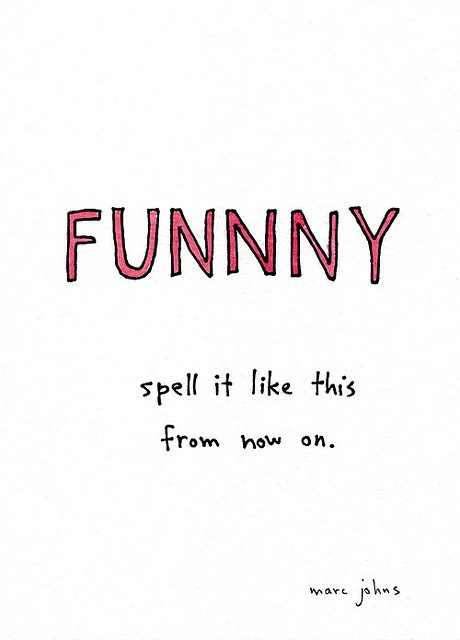 funnny by Marc Johns, via Flickr
