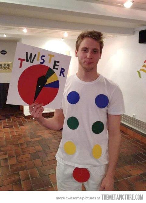 This could be a great halloween costume.