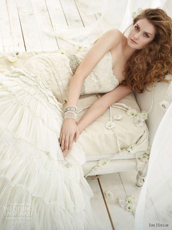 Jim Hjelm Wedding Dresses Spring 2012