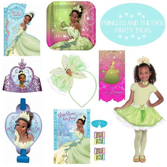 Princess and the Frog Birthday Party Ideas