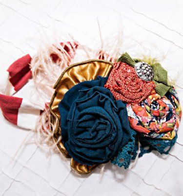 Persnickety Fall 2013 Flower Fields HeadbandNow in Stock