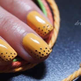 Manila by #AmericanApparel Nail Polish.  #nail #nailart #nailpolish #beauty #orange