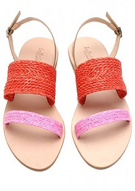 Sandals fresh and lovely colors. Ideals with shorts.Summer, summer!