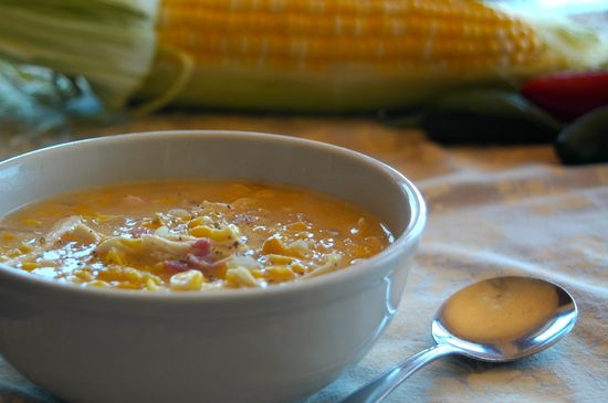 Spicy Chicken & Corn Chowder: Favorite Soup Ever!