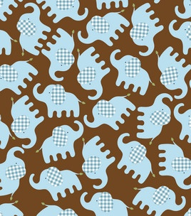 #Elephant fabric love! #flannel #baby