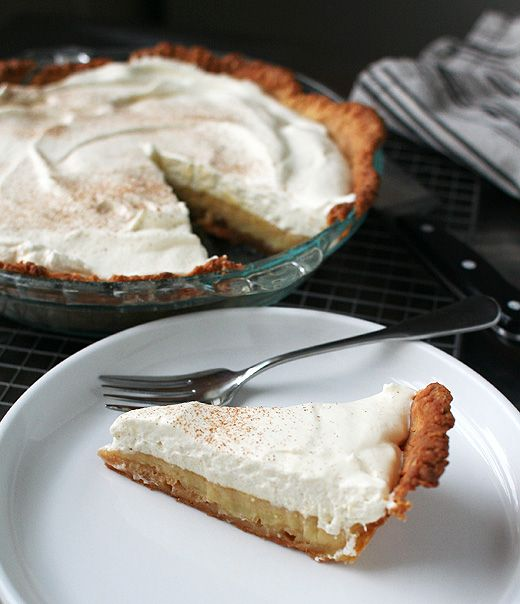 Apple Cider Cream Pie