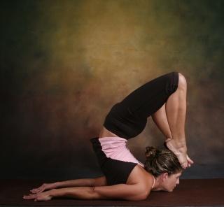 Fit & flexible.. I'm jealous.