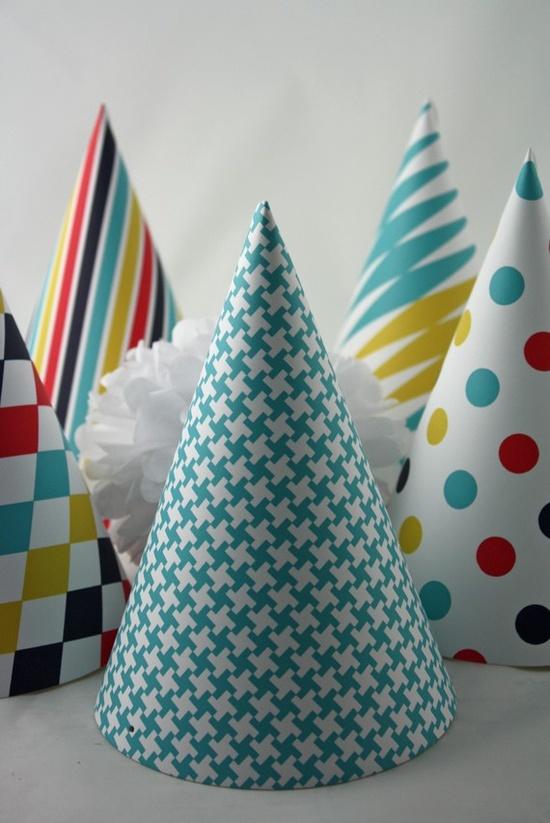 Custom Carnival Party Hats