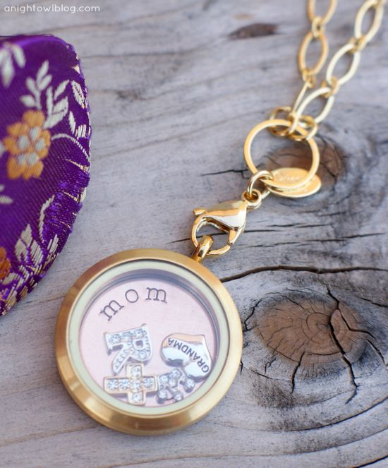 Origami Owl Custom Jewelry makes the perfect personalized gift!