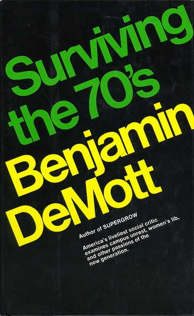 Surviving the 70's. No designer credit.