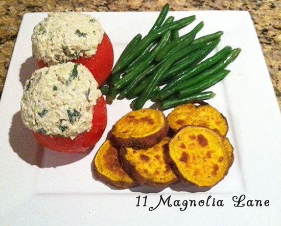 Cilantro Chicken Salad Recipe, plus healthy eating meal plan