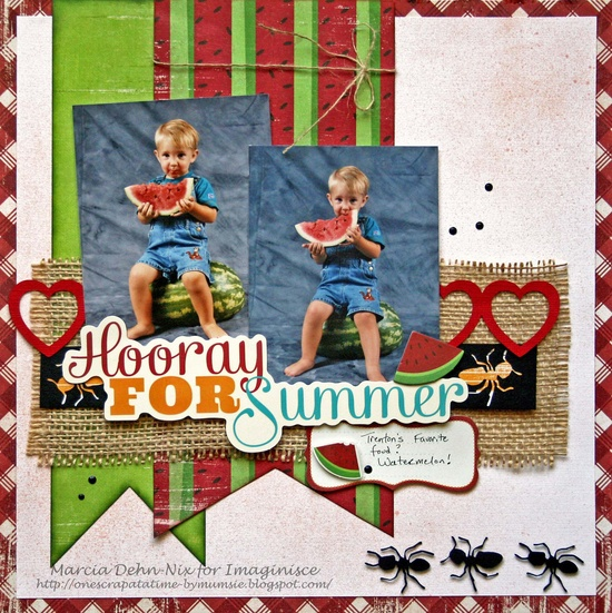 Hooray For Summer - Scrapbook.com