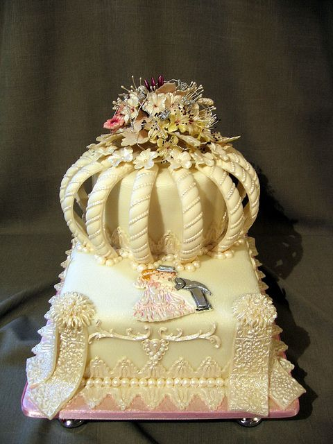 .wow wedding cake!