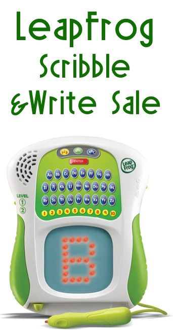 LeapFrog Scribble and Write Sale: $14.29! #toys