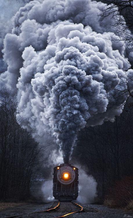 Steam Engine, Cumberland, West Virginia, USA