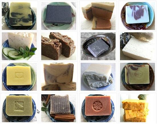 6 Handmade Soaps  Soap Set