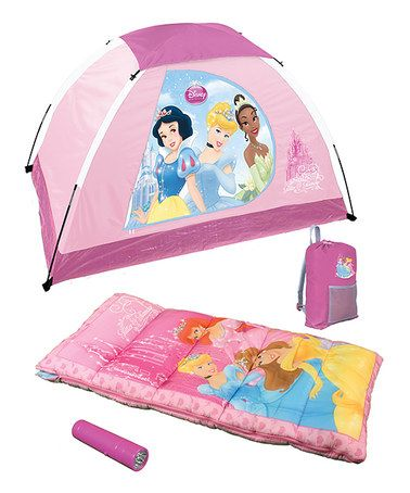 Take a look at this Princess Camping Set by Disney on #zulily today!