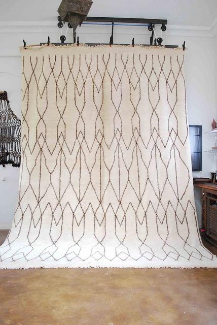 moroccan beni ourain carpet Ohhhhh  and magical too !!