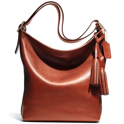 Coach Leather Handbag, great for Fall