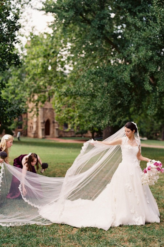 In front of the UVA Chapel by Jen Fariello Photography