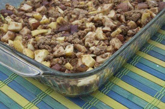Toddler Apple Snack Cake recipe #freezercooking #apples #kids