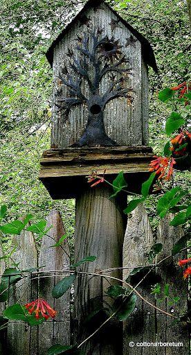 such a beautiful birdhouse