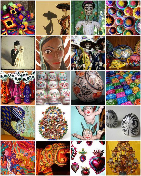Beautiful Mexican Folk Art