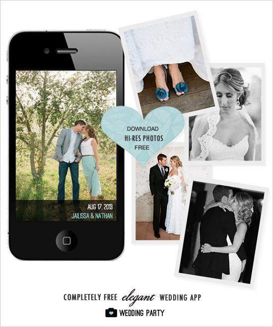 The Wedding Party App is super well designed and it's free. Everyone loves to see all the photos even from guests and this is a great solution.