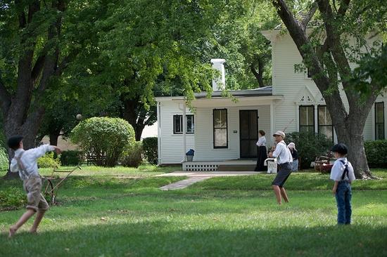 Eisenhower's Boyhood Home, Abilene