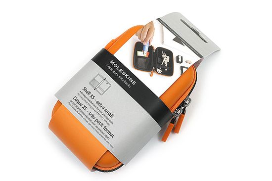 JetPens.com - Moleskine Travelling Collection Shell Case - XS - Orange
