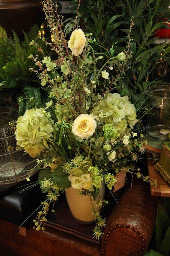 super natural silk floral arrangement www.EvergreenMfg.net