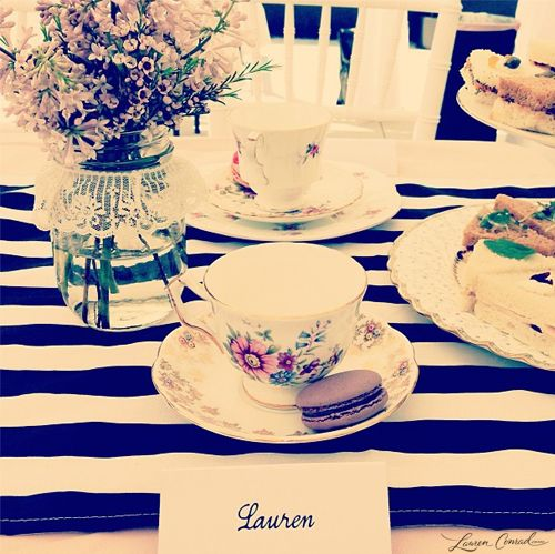 pretty place setting #LaurenConrad