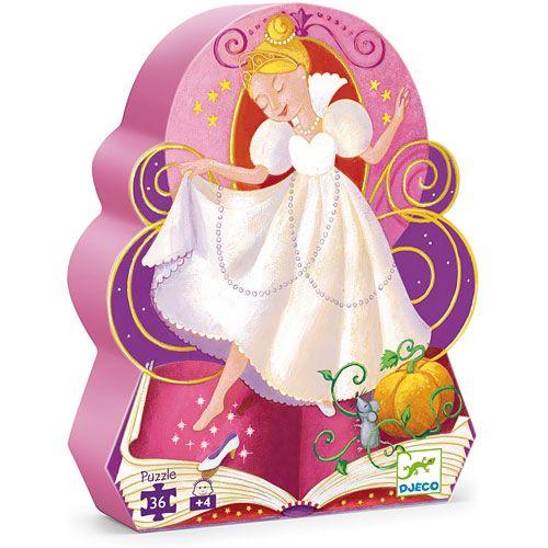 Djeco Cinderella 36 Piece Puzzle