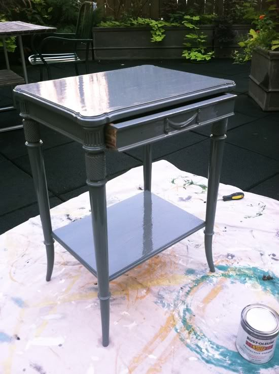 lacquering furniture, no sanding
