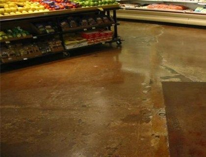 stained and polished concrete #modern floor design #floor design