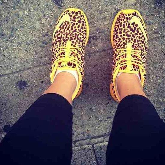 Leopard Nikes.