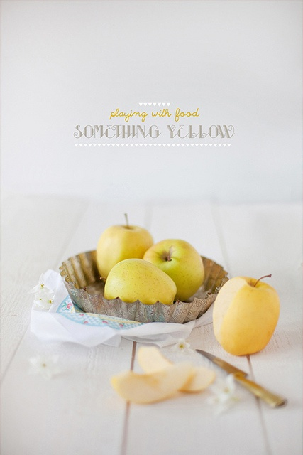 Playing With Food: Mellow Yellow on decor8blog.com, via Flickr