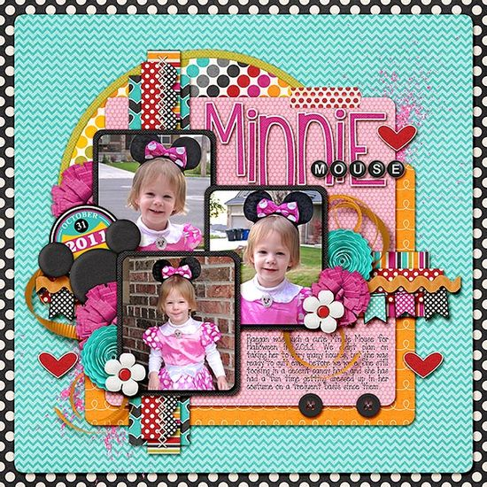 Minnie Mouse - Scrapbook.com