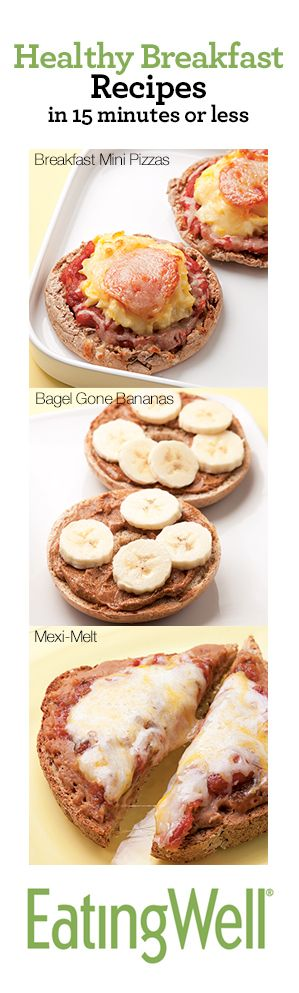 18 Healthy Breakfast Recipes ready in 15 minutes or less- perfect for a hectic school morning ///// alexiscooper.com/