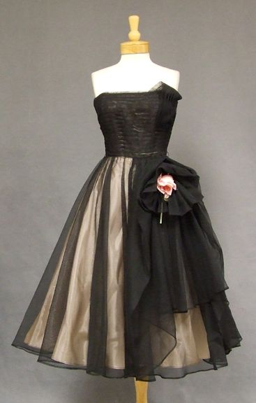 party frock. 1950s
